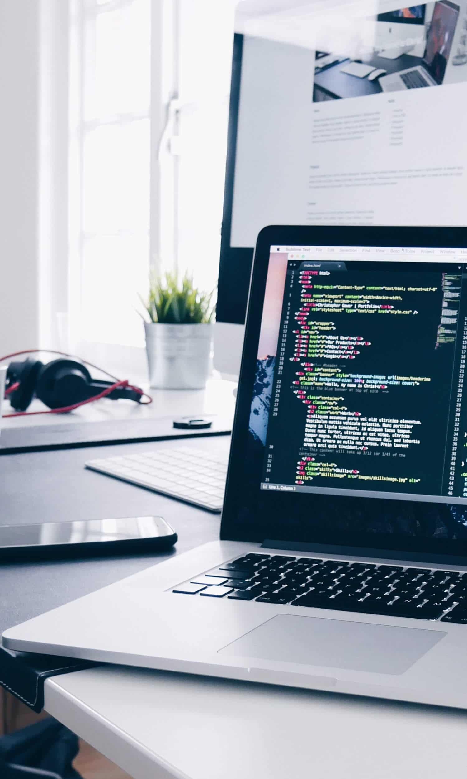 byconstant website design